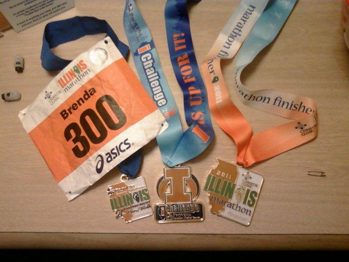 2011 marathon bling
