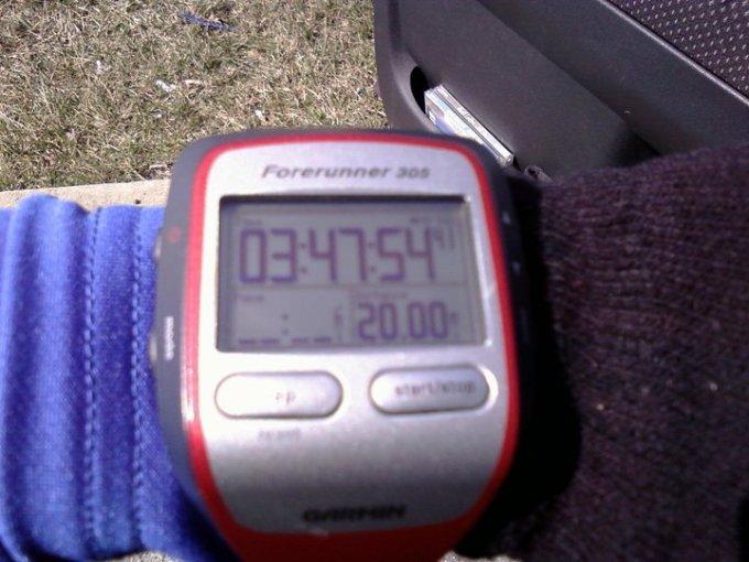 first 20 miler