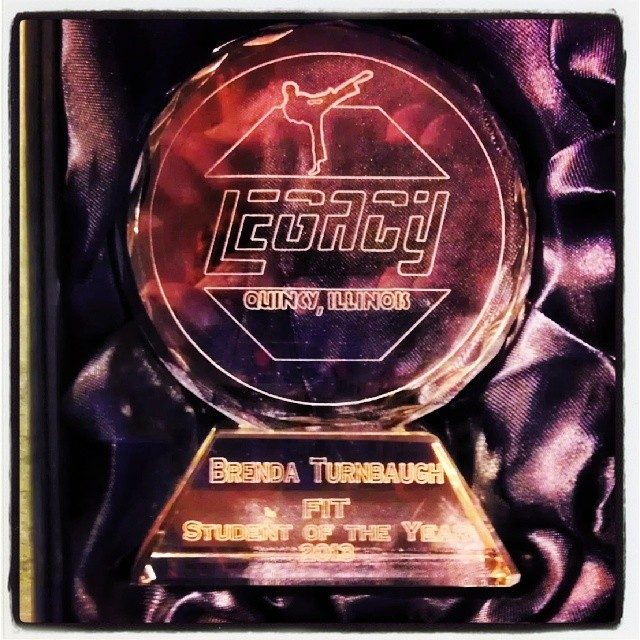legacy fit award 2013