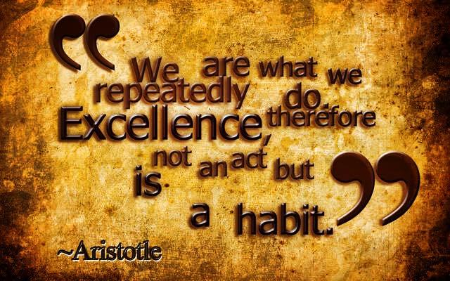 excellence habit