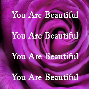 purple rose you are beautiful
