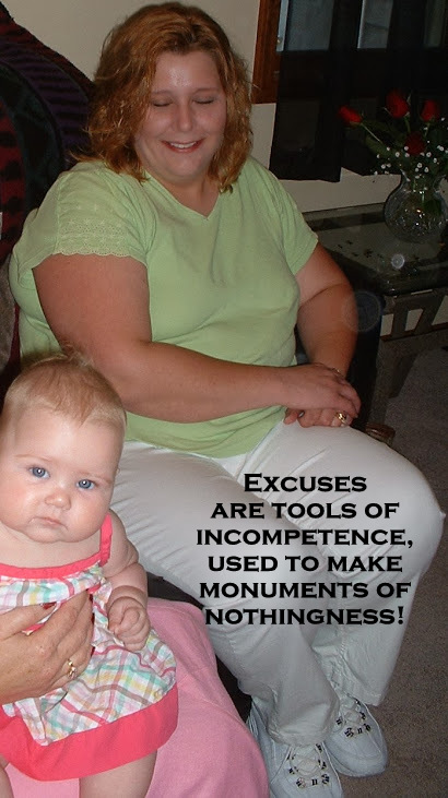 Excuses are tools