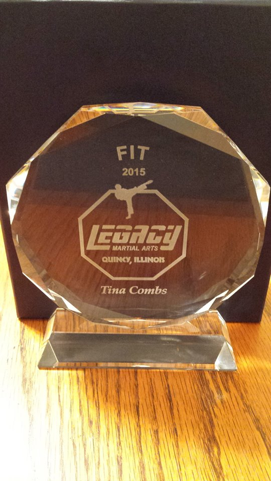 tinas Fit Award