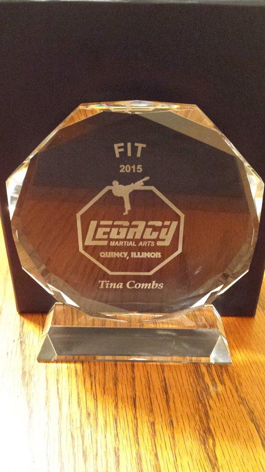 tinas Fit Award