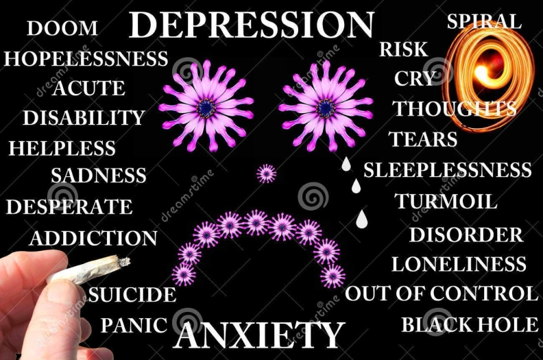 depression-anxiety-concept-pictures-words-black-background-32408396
